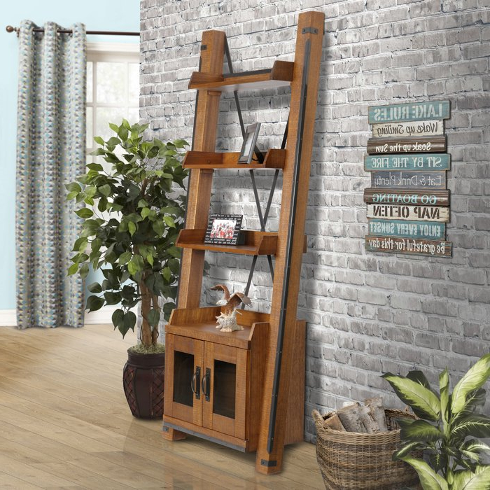 Leandra Ladder Bookcase In 2019 Leandra Ladder Bookcases (View 5 of 20)