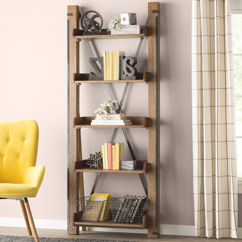 Leandra Ladder Bookcases For Latest Leandra Ladder Bookcase (View 3 of 20)