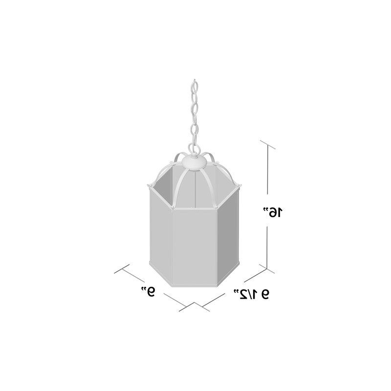 Leiters 3 Light Lantern Geometric Pendants With Popular Leiters 3 Light Lantern Geometric Pendant (View 8 of 30)