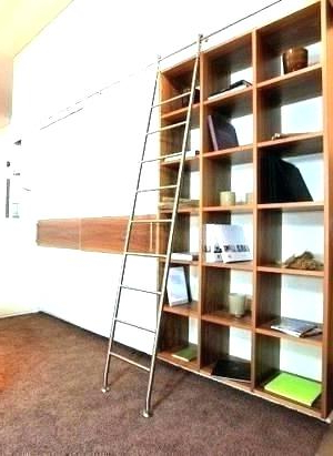 Library Ladder Kit – Timeous Regarding Well Liked Kit Bookcases (View 12 of 20)