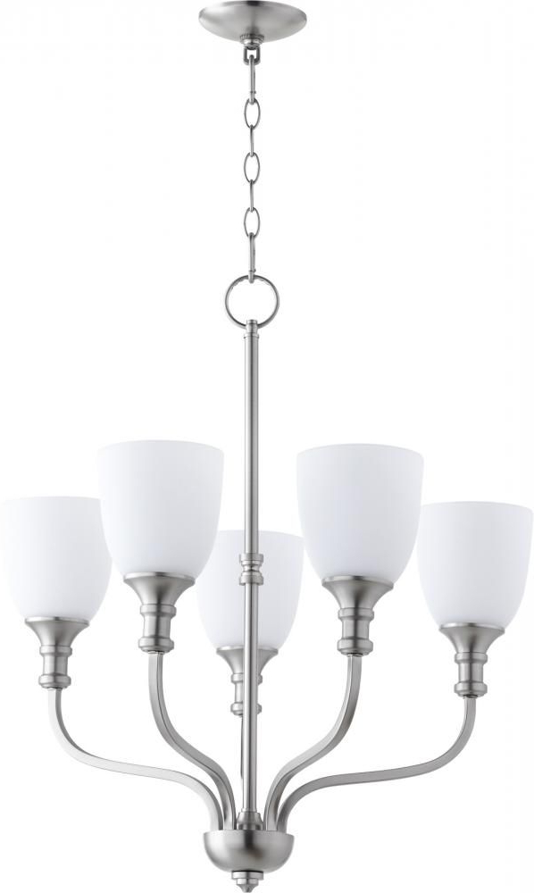 Lights Unlimited Inc Pertaining To Preferred Hayden 5 Light Shaded Chandeliers (Gallery 15 of 30)