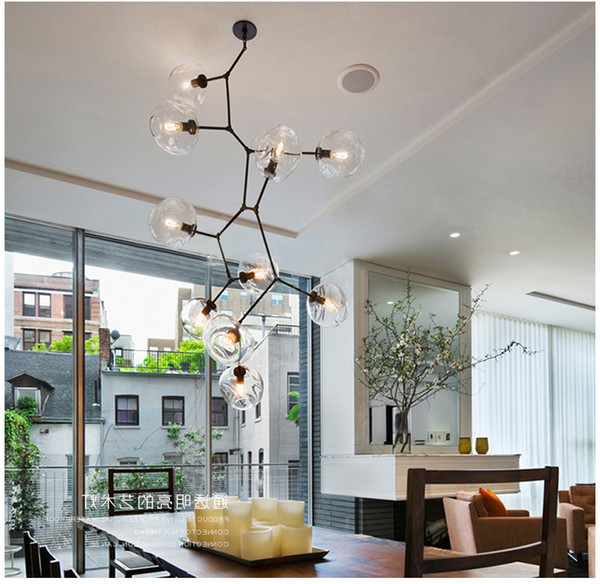 Lindsey 4 Light Drum Chandeliers Regarding Most Popular Lindsey Adelman Chandeliers Lighting Modern Lamp Novelty Pendant Light  Natural Tree Branch Suspension Light Hotel Dinning Room Light Fixture  Ceiling (View 24 of 30)