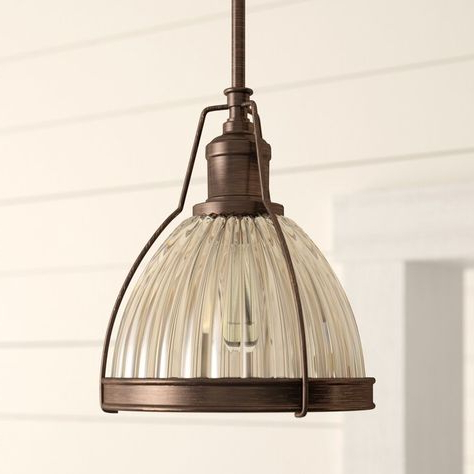 List Of Pinterest Mini Pendants Birch Lane Images & Mini With Best And Newest Louanne 1 Light Lantern Geometric Pendants (View 12 of 30)