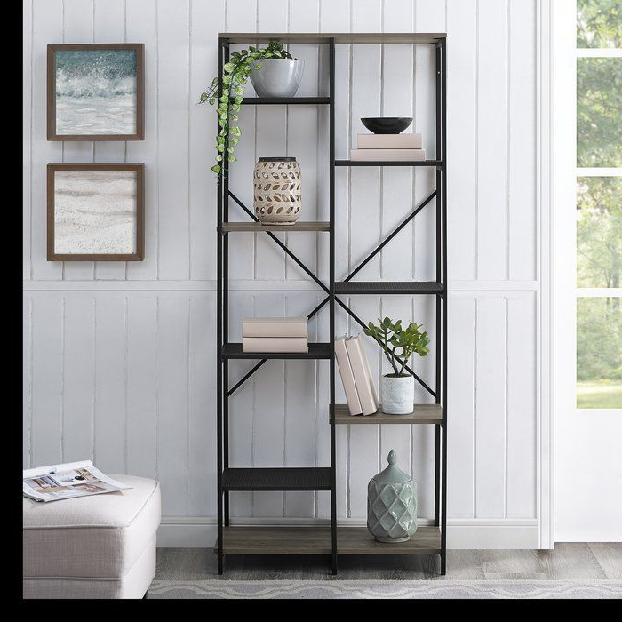 Living Room In Regarding 2019 Bowman Etagere Bookcases (View 13 of 20)