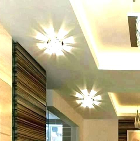 Long Hallway Light Fixtures Ceiling Hall Lights For Lighting Pertaining To Favorite Finnick 4 Light Foyer Pendants (Gallery 24 of 30)