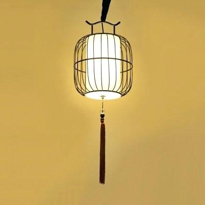 Louanne 1 Light Lantern Geometric Pendants For Famous Lantern Pendant Light – Cherylmartens (View 13 of 30)