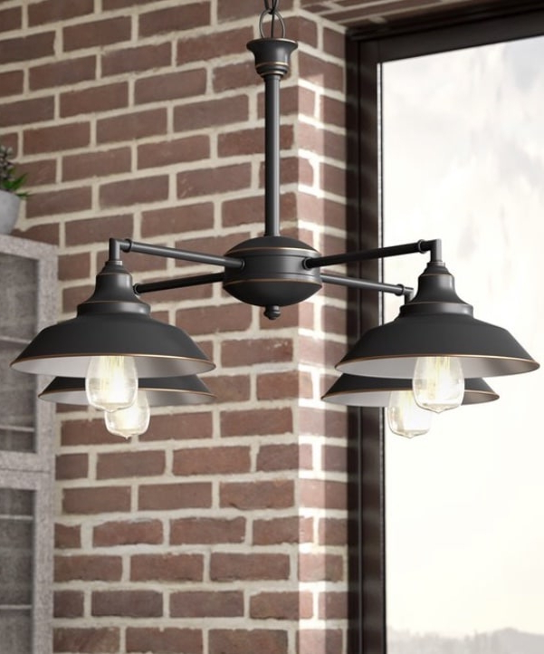 Louanne 1 Light Lantern Geometric Pendants Regarding Most Current Industrial Pendant Lighting (View 18 of 30)