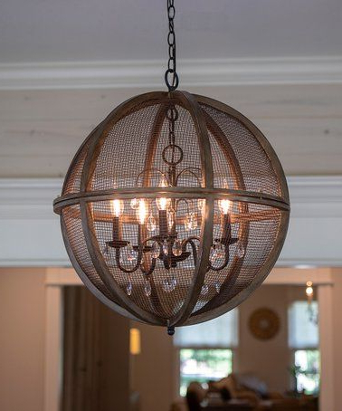 Loving This Black Mesh Declan Orb Chandelier On #zulily In Favorite Filipe Globe Chandeliers (View 17 of 30)