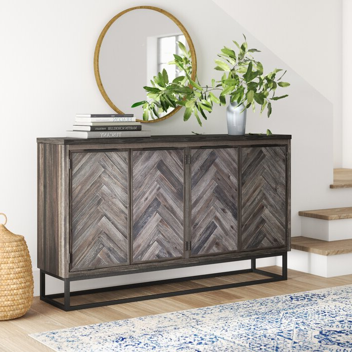 Lowrey Credenzas Intended For Trendy Kaelyn Credenza (Gallery 17 of 20)