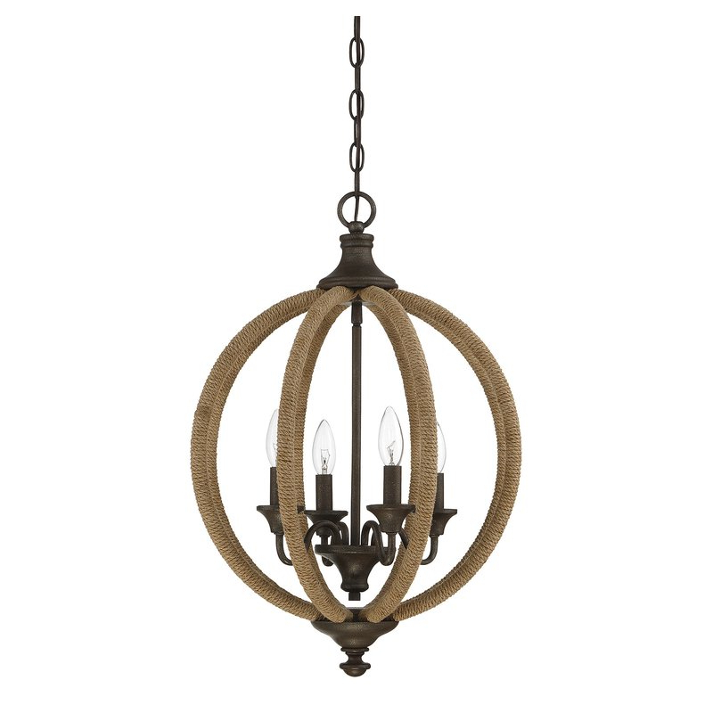 Lynda 4 Light Globe Chandelier For 2020 Donna 4 Light Globe Chandeliers (Gallery 12 of 30)