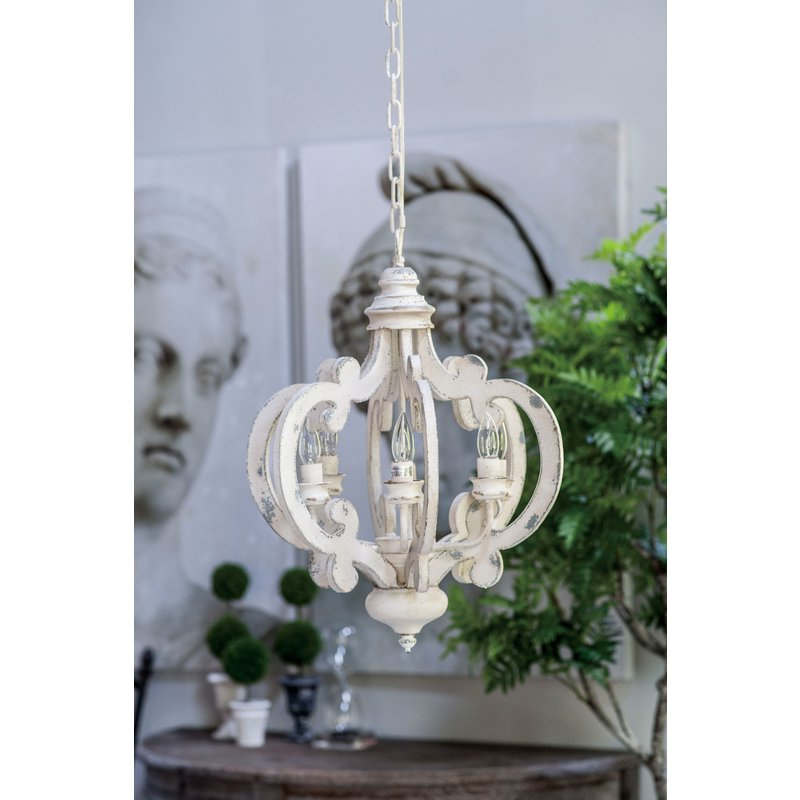 Lynn 6 Light Geometric Chandelier In Trendy Lynn 6 Light Geometric Chandeliers (Gallery 3 of 30)