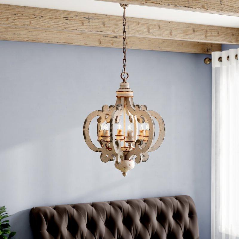 Featured Photo of Lynn 6 Light Geometric Chandeliers