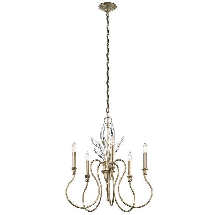 Madison Lane 5 Light Chandelier Regarding Well Known Corneau 5 Light Chandeliers (View 13 of 30)