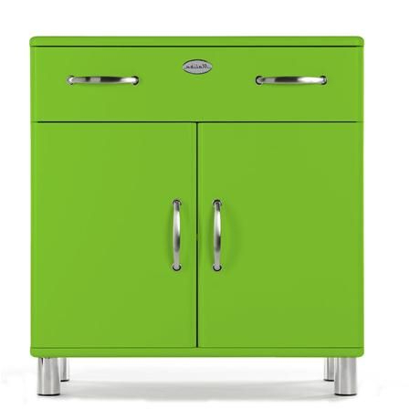 Malibu 2 Door 1 Drawer Sideboards For Widely Used Malibu 2 Door & 1 Drawer Cupboard, Green (View 10 of 20)