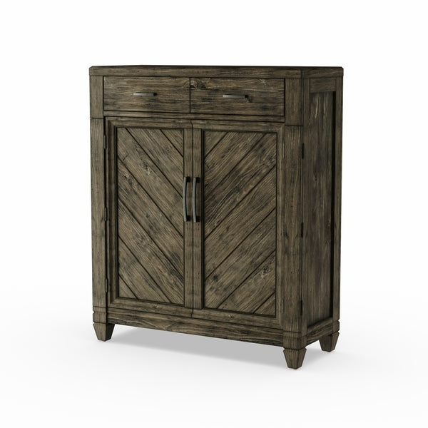 Malibu 2 Door 4 Drawer Sideboards Within Most Current Shop Liberty Baldwin Brown 2 Drawer/2 Door Chest – Free (View 13 of 20)