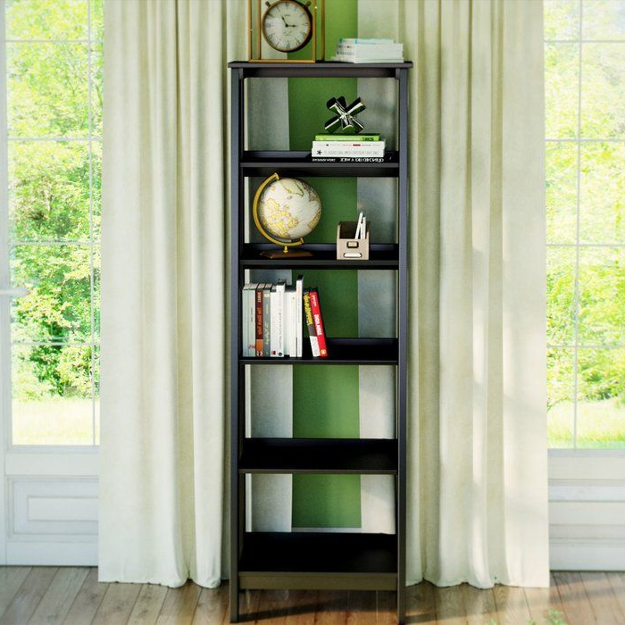 Massena Ladder Bookcases In 2020 Massena Ladder Bookcase In (View 13 of 20)