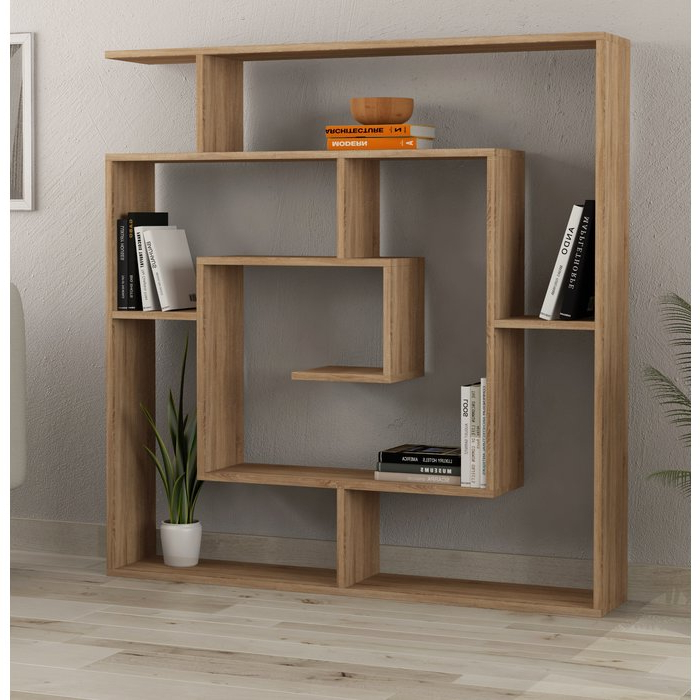 Mckibben Geometric Bookcase In Fashionable Mckibben Geometric Bookcases (Gallery 5 of 20)