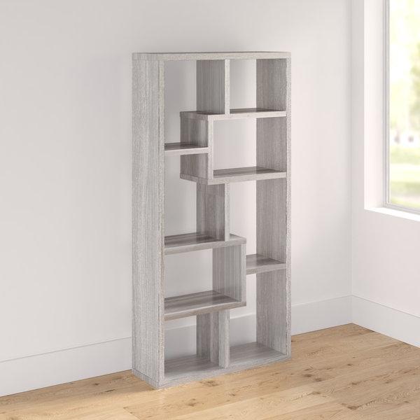 Mckibben Geometric Bookcases With Regard To 2019 Flavius Geometric Bookcasecorrigan Studio (Gallery 14 of 20)