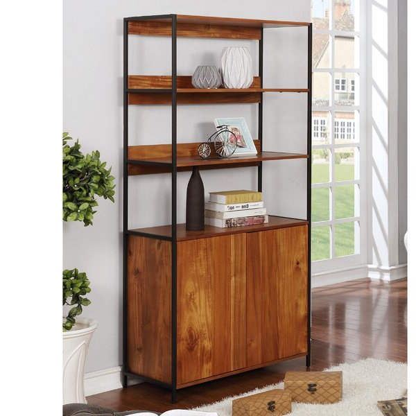 Mckibben Geometric Bookcases With Regard To Popular Mckibben Geometric Bookcaseivy Bronx Spacial Price On (View 16 of 20)