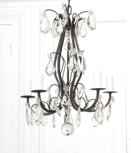 Metal And Crystal Chandelier – Mobilejesus (View 19 of 30)