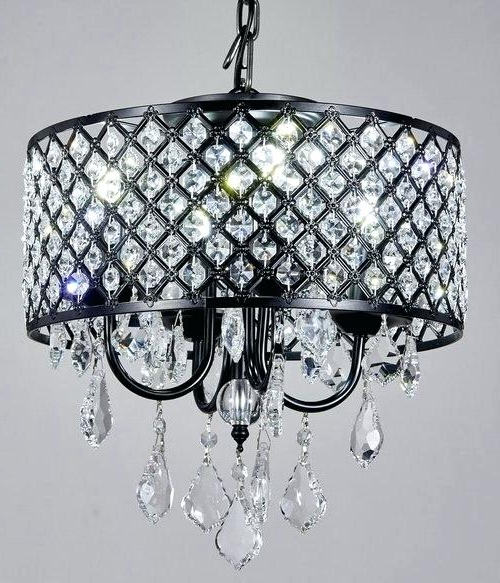 Metal And Crystal Chandelier – Mobilejesus.co With Regard To Popular Albano 4 Light Crystal Chandeliers (Gallery 21 of 30)