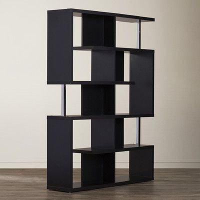 Metal Bookcase, Black In 2020 Chantilly Geometric Bookcases (View 4 of 20)