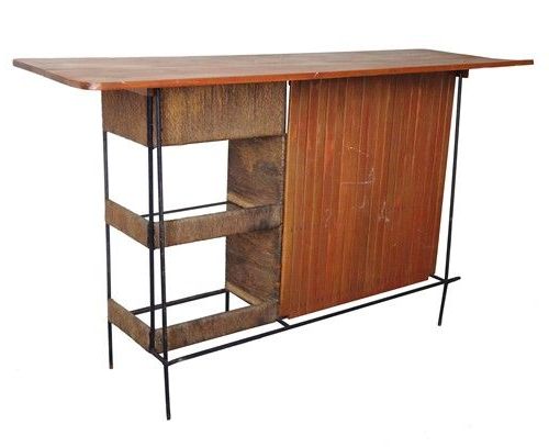 Mid Century Bar Designedarther Umanoff For Raymor With Trendy Barr Credenzas (View 12 of 20)