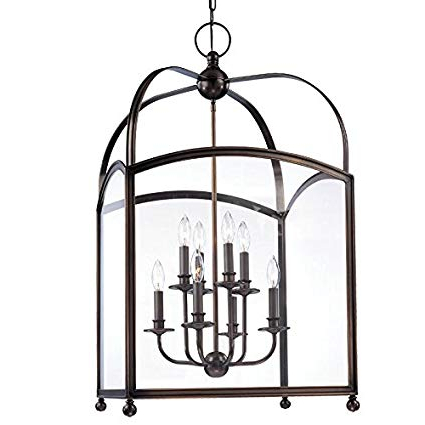 Millbrook 5 Light Shaded Chandeliers With 2019 Millbrook 8 Light Pendant – Distressed Bronze Finish With (Gallery 15 of 30)