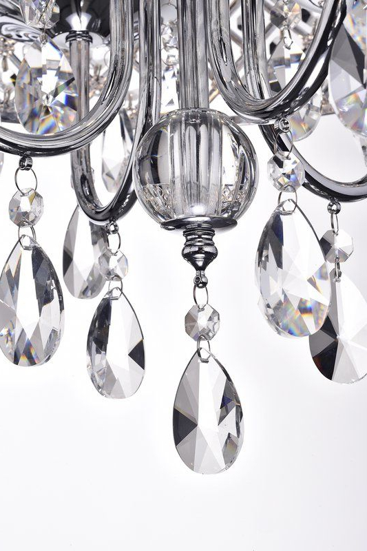 Mirror Sliding With Von 4 Light Crystal Chandeliers (View 14 of 30)