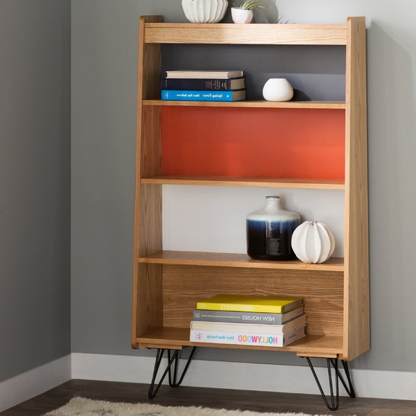 Modern & Contemporary Daria Standard Bookcase (View 13 of 20)