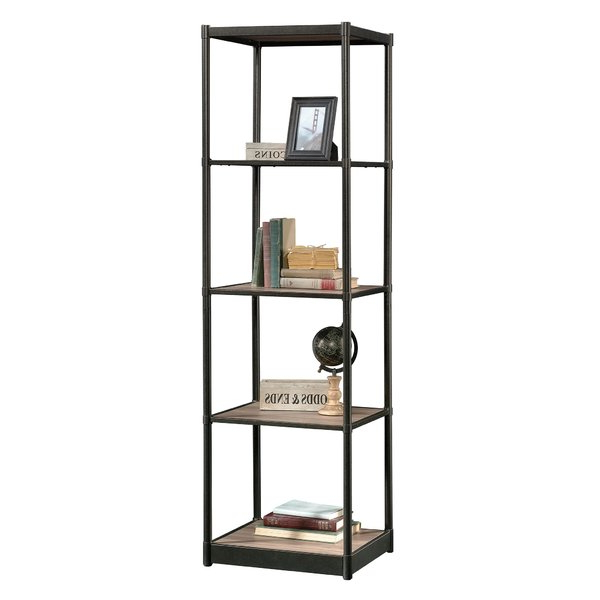 Modern & Contemporary Spine Tower Bookshelf (Gallery 12 of 20)