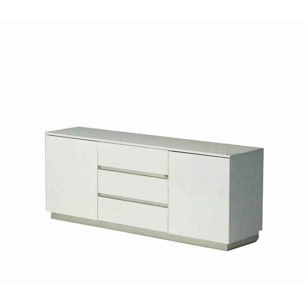 Modern & Contemporary White Lacquer Sideboard (View 5 of 20)