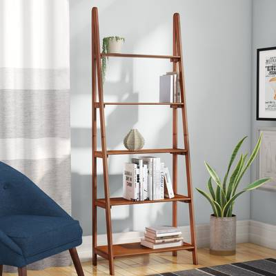 Modern Rustic Interiors Noelle Ashlynn Ladder Bookcase Pertaining To Well Liked Noelle Ashlynn Ladder Bookcases (View 10 of 20)