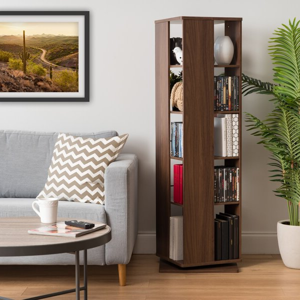 Modern Throughout Crowley Standard Bookcases (Gallery 16 of 20)