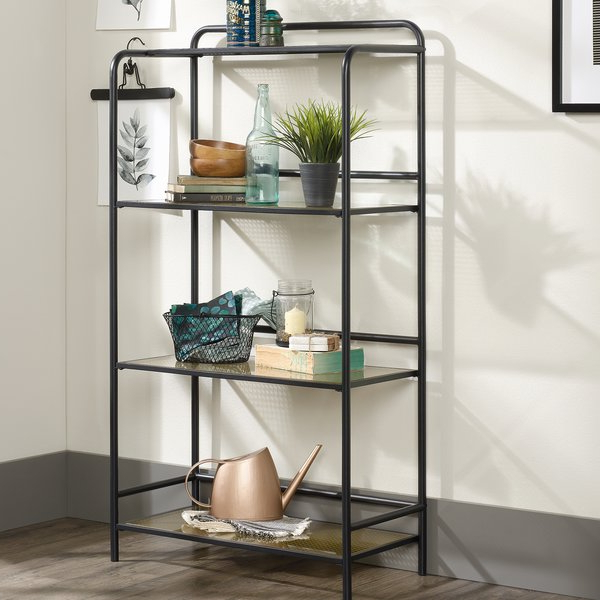 Morais Etagere Bookcasewilliston Forge Regarding Trendy Cifuentes Dual Etagere Bookcases (View 14 of 20)
