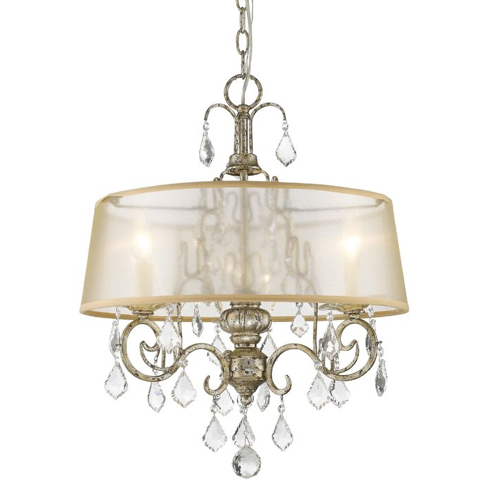 Morehouse 3 Light Drum Chandelier With Regard To Popular Buster 5 Light Drum Chandeliers (View 14 of 30)