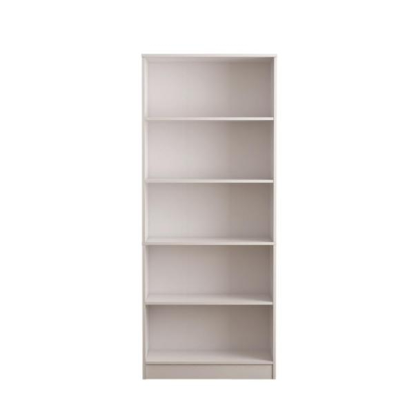 Morrell Standard Bookcases With Most Up To Date Hampton Bay White 5 Shelf Bookcase Thd90004.1A (View 10 of 20)