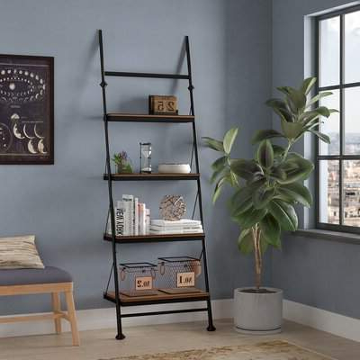 Moskowitz Ladder Bookcases Within Most Up To Date Trent Austin Design Yreka Ladder Bookcase Trent Austin Design (Gallery 12 of 20)