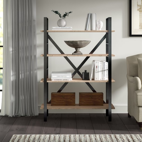 Most Current Aptos Etagere Bookcases Intended For Rhonda Etagere Bookcasegreyleigh (Gallery 14 of 20)