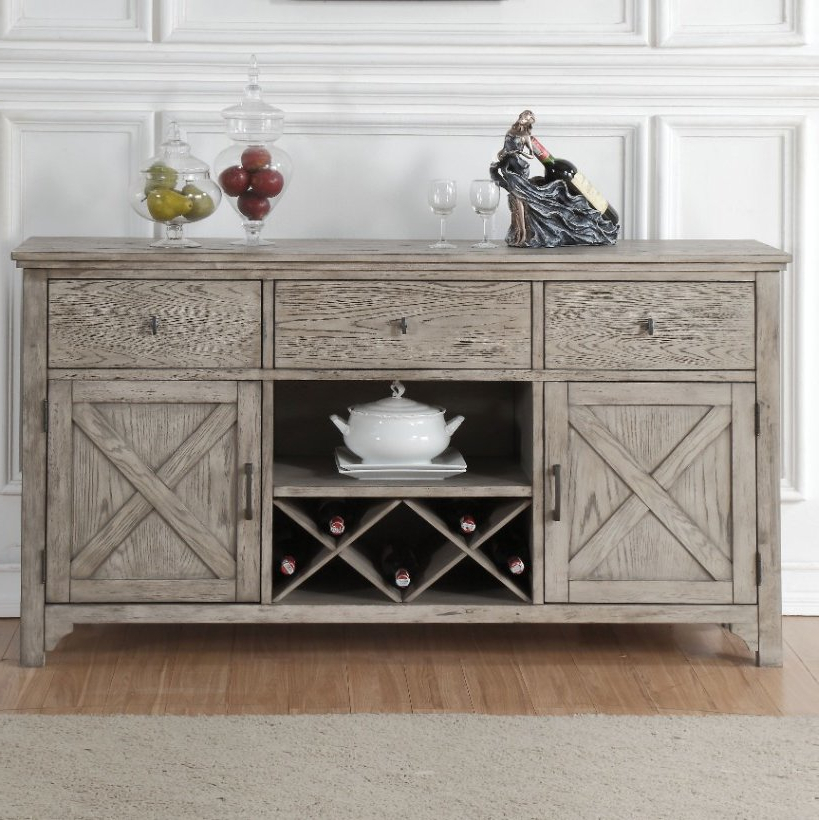 Most Current Cazenovia Charnley Sideboards Within Distressed Finish Grey Sideboards & Buffets You'll Love In (View 11 of 20)
