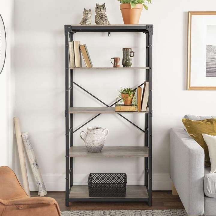 Most Current Cecelia Etagere Bookcase In  (View 10 of 20)