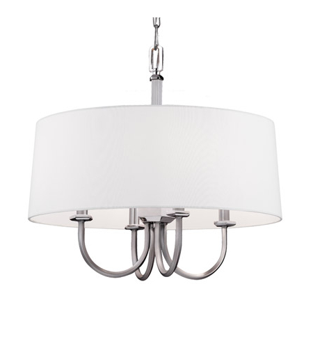 Most Current Dailey 4 Light Drum Chandeliers For Feiss F3052/4sn/pn Pentagram 4 Light 20 Inch Satin Nickel / Polished Nickel Drum Pendant Ceiling Light (Gallery 20 of 30)