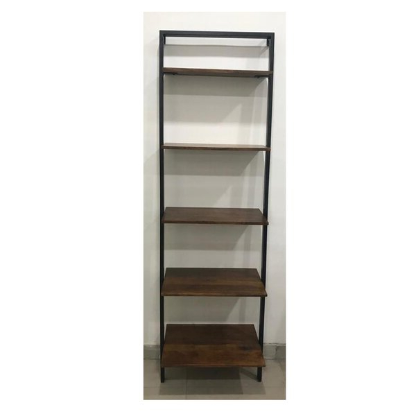 Most Current Earline Etagere Bookcases With Regard To Torrens Mango Wood And Iron Standard Bookcasewilliston Forge (Gallery 16 of 20)