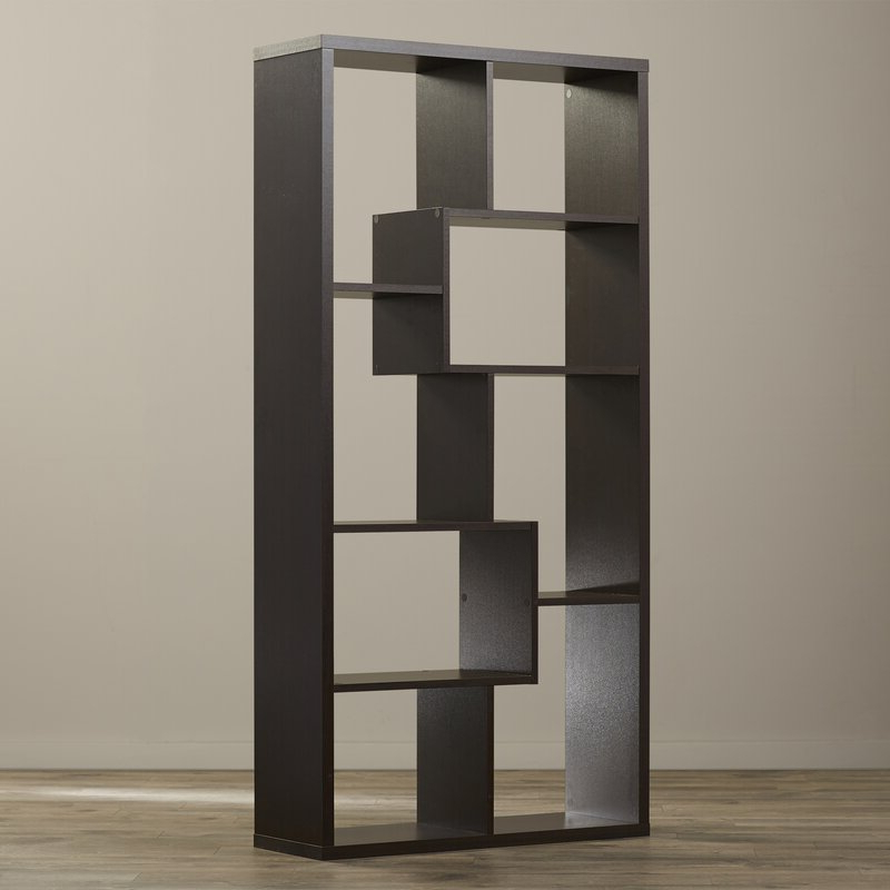 Most Current Ervin Geometric Bookcases Throughout Ervin Geometric Bookcase (View 12 of 20)