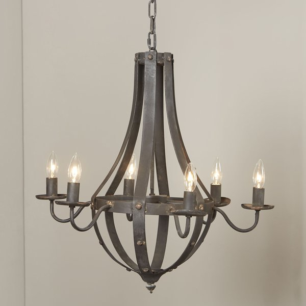 Most Current Foulds 6 Light Empire Chandelier Inside Shaylee 8 Light Candle Style Chandeliers (View 11 of 30)