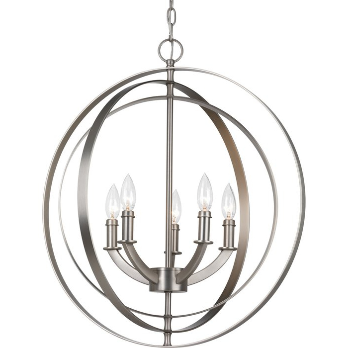 Most Current Morganti 5 Light Chandelier For Morganti 4 Light Chandeliers (View 7 of 30)