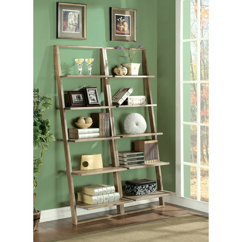 Most Current Noelle Ashlynn Ladder Bookcases Pertaining To Noelle Ashlynn Ladder Bookcase (View 3 of 20)