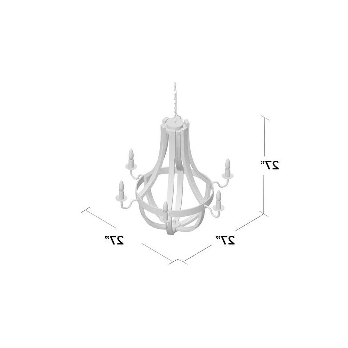 Most Current Phifer 6 Light Empire Chandelier For Phifer 6 Light Empire Chandeliers (View 14 of 30)