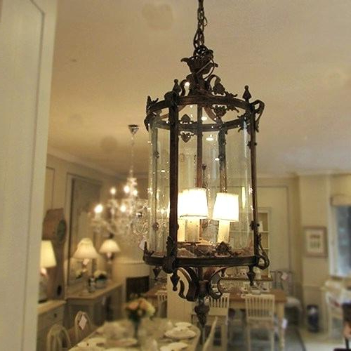 Most Current Rustic Lantern Chandelier – Themusicindustry.co Inside Nolan 1 Light Lantern Chandeliers (Gallery 27 of 30)