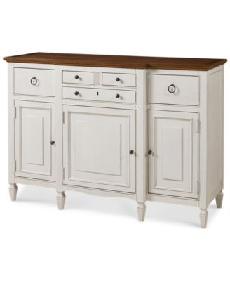 Most Current Sag Harbor Round Serving Buffet In  (View 8 of 20)